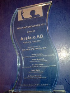 ArsizioMunicCleantech Award